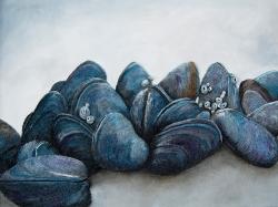 Mussels III String Art